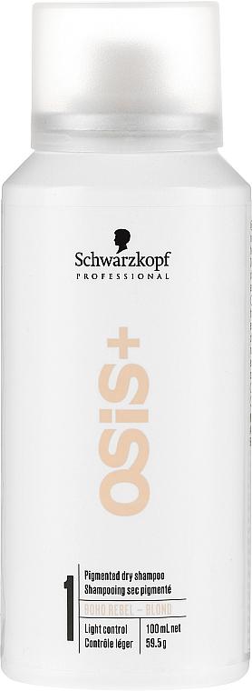 Dry Shampoo for Blondes - Schwarzkopf Professional Osis+ Boho Rebel Blond