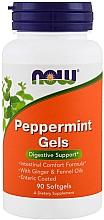 Fragrances, Perfumes, Cosmetics Peppermint Softgels - Now Foods Peppermint Gels