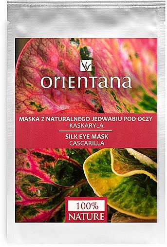 """Eye Mask """"Cascarilla"""" - Orientana Eye Silk Pad Cascarilla"""