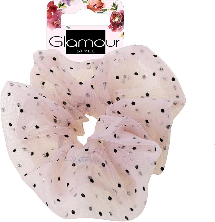 Elastic Hair Band, 417678, pink - Glamour — photo N1