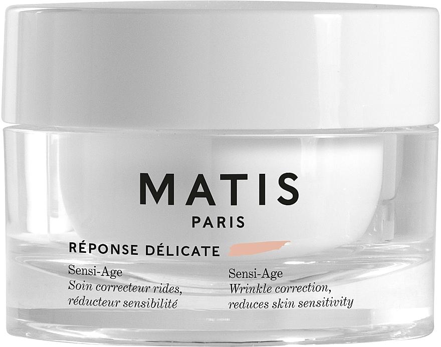 Anti-Wrinkle Soothing Cream for Sensitive Skin - Matis Reponse Delicate Sensi-Age