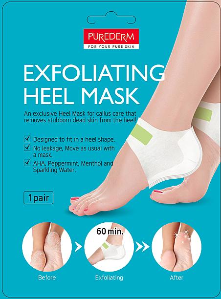 Exfolaiting Heel Mask - Purederm Exfolaiting Heel Mask