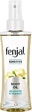 Fragrances, Perfumes, Cosmetics Almond & Vitamin E Body Oil - Fenjal Sensitive Body Oil
