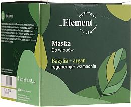 Fragrances, Perfumes, Cosmetics Anti Hair Loss Mask - _Element Basil Strengthening Anti-Hair Loss Mask