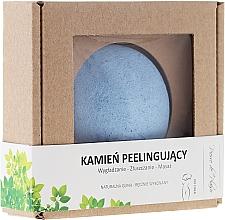 Fragrances, Perfumes, Cosmetics Natural Scrubbing Face Stone, blue - Pierre de Plaisir Natural Scrubbing Stone Body