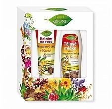 Fragrances, Perfumes, Cosmetics Set - Bione Cosmetics Argan Oil (h/balm/200ml + b/lot/500ml)