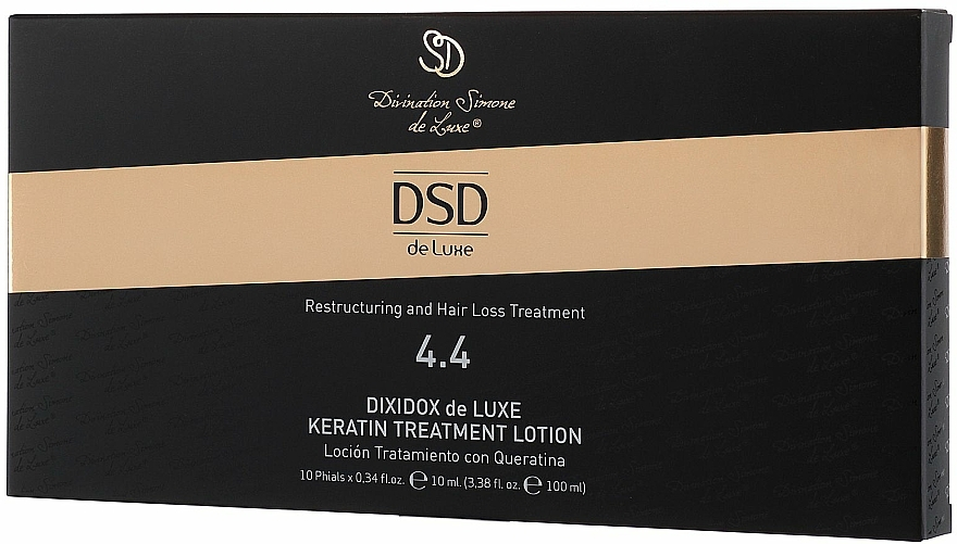 Dixidox de Luxe Keratin Restructuring Lotion #4.4 - Divination Simone De Luxe Dixidox De Luxe Keratin Treatment Lotion — photo N3
