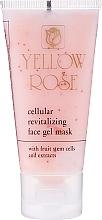 Fragrances, Perfumes, Cosmetics Cellular Stem Cell Toning Gel Mask - Yellow Rose Cellular Revitalizing Gel Mask