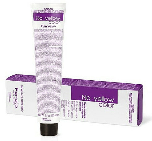 Toning Hair Cream Color - Fanola No Yellow Color Toner