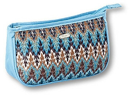 "Fragrances, Perfumes, Cosmetics Makeup Bag ""Boho"" 94156, blue - Top Choice"