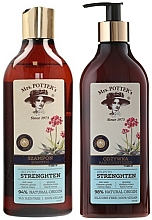 Fragrances, Perfumes, Cosmetics Set - Mrs. Potter's Triple Root (shm/390ml + cond/390ml)
