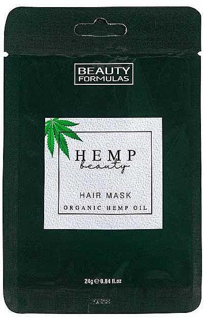 Hair Mask - Beauty Formulas Hemp Beauty Hair Mask