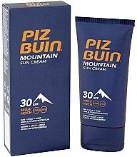 Fragrances, Perfumes, Cosmetics Protective Face Cream - Piz Buin Mountain Sun Cream SPF30