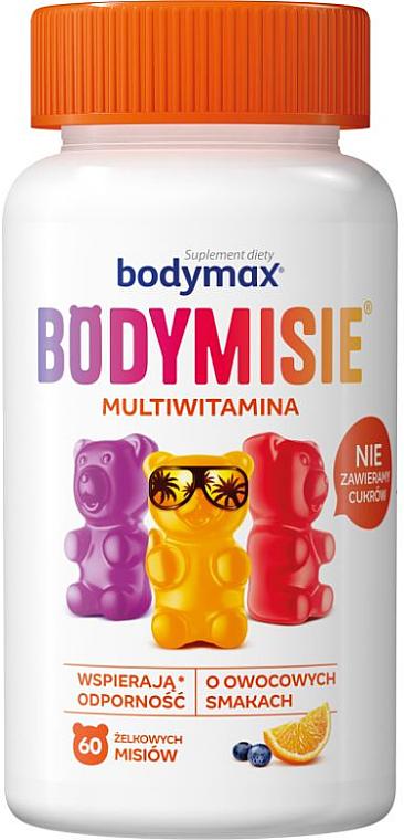 Multivitamin Jelly Dietary Supplement - Orkla Bodymax Bodymisie Jellies For Children Multivitamin