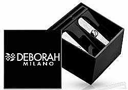 Fragrances, Perfumes, Cosmetics Double Pencil Sharpener - Deborah Double Pencil Sharpener