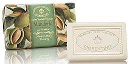 """Fragrances, Perfumes, Cosmetics Natural Soap """"Almond"""" - Saponificio Artigianale Fiorentino Almond Scented Soap"""