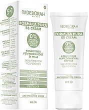 Fragrances, Perfumes, Cosmetics BB-Cream - Deborah Milano Formula Pura BB Cream 5in1