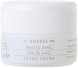 Fragrances, Perfumes, Cosmetics Anti Deep Wrinkle Night Cream - Korres White Pine