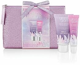 Fragrances, Perfumes, Cosmetics Set - Style & Grace Glitz & Glam Glitter Bag Gift Set (h/lot/50ml + lip gloss/10ml + bag)