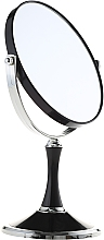 Fragrances, Perfumes, Cosmetics Double-Sided Mirror, 85642, black - Top Choice