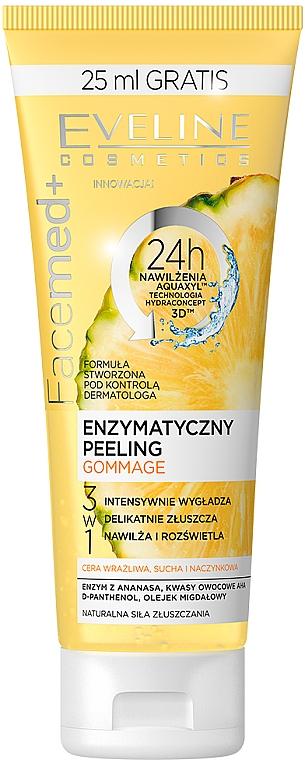 Pineapple and Fruit Acids Enzyme Peeling - Eveline Cosmetics Facemed+ Enzymatycny Peeling Gommage