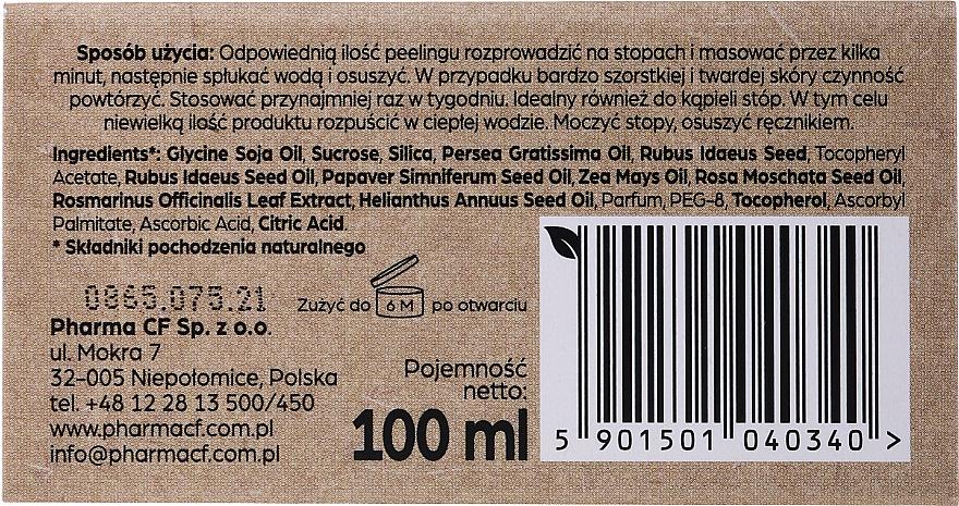Poppy Foot Peeling - Pharma CF No.36 Plantis Therapy Foot Peeling — photo N2