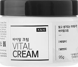 Fragrances, Perfumes, Cosmetics Moisturizing Snail Mucin Face Cream - KNH Vital Cream