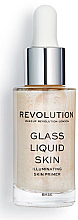 Fragrances, Perfumes, Cosmetics Liquid Primer Serum - Makeup Revolution Glass Liquid Skin Primer Serum