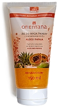 "Fragrances, Perfumes, Cosmetics Face Gel Cleanser ""Aloe Vera and Papaya"" - Orientana Face Gel Cleanser"