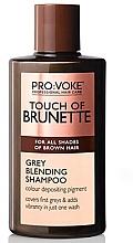 Fragrances, Perfumes, Cosmetics Shampoo - Pro:Voke Touch of Brunette Grey Blending Shampoo