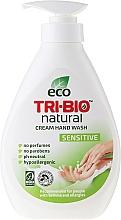 Fragrances, Perfumes, Cosmetics Natural Liquid Soap - Tri-Bio Cream Wash Sensitive