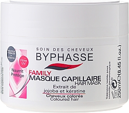 Fragrances, Perfumes, Cosmetics Color-Treated Hair Mask - Byphasse Family Coloured Hair Mask