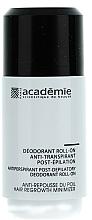 Fragrances, Perfumes, Cosmetics After Epilation Antiperspirant Deodorant - Academie Acad'Epil Deodorant Roll-on Specifique Post