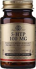 "Fragrances, Perfumes, Cosmetics Dietary Supplement ""Hydroxytryptophan"" - Solgar 5-Htp 100mg Veg Capsules"