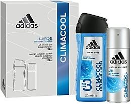 Fragrances, Perfumes, Cosmetics Set - Adidas Climacool Men (deo/150ml +sh/gel/250ml)