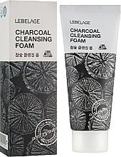 Fragrances, Perfumes, Cosmetics Charcoal Foam - Lebelage Charcoal Cleansing Foam
