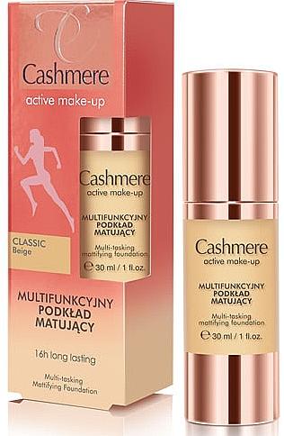 Mattifying Foundation - Dax Cashmere Active Make-Up Mattifying Foundation