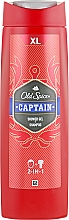 Fragrances, Perfumes, Cosmetics Shower Gel - Old Spice Captain Shower Gel