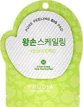 Fragrances, Perfumes, Cosmetics Facial Peeling Pad with Green Grape - Frudia Pore Peeling Big Pad Green Grape
