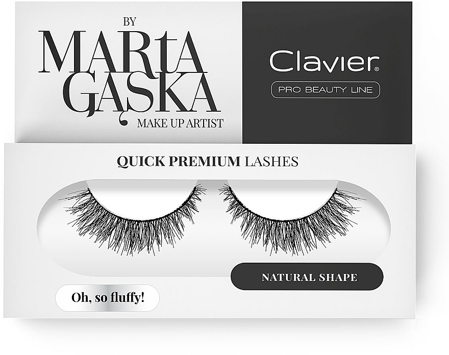 Flase Lashes - Clavier Quick Premium Lashes Oh, So Fluffy! SK57