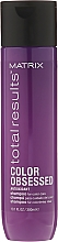 Fragrances, Perfumes, Cosmetics Hair Color Preserving Shampoo for Colored Hair - Matrix Total Results Color Obsessed Shampoo