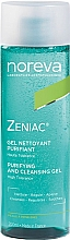 Fragrances, Perfumes, Cosmetics Cleansing Gel - Noreva Laboratoires Zeniac Purifying And Cleansing Gel