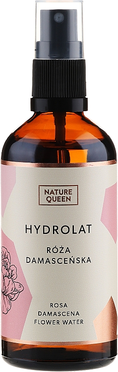 """Hydrolat """"Damask Rose"""" - Nature Queen"""