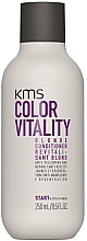 Fragrances, Perfumes, Cosmetics Blonde Hair Conditioner - KMS California Colour Vitality Blonde Conditioner