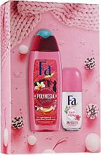 Fragrances, Perfumes, Cosmetics Set - Fa Polinesia Secrets (sh/grl/250ml + deo/50ml)