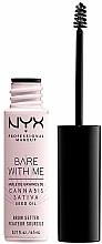 Fragrances, Perfumes, Cosmetics Brow Gel - NYX Professional Bare With Me Hemp Brow Setter