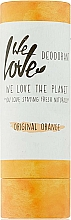 "Fragrances, Perfumes, Cosmetics Deodorant Stick ""Orange"" - We Love The Planet Original Orange Deodorant Stick"