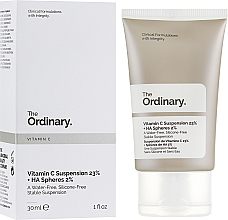 Fragrances, Perfumes, Cosmetics Vitamin C Suspension 23% + HA Spheres 2% Serum - The Ordinary Vitamin C Suspension 23% + HA Spheres 2%