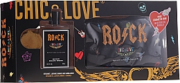 Fragrances, Perfumes, Cosmetics Chic&Love Rock - Set (edt/100ml + bag)