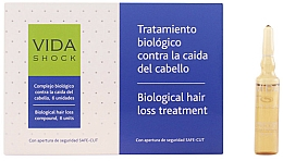 Fragrances, Perfumes, Cosmetics Hair Ampoules - Luxana Vida Shock Ampoule Anticaida